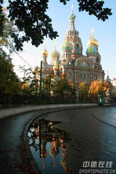 图文:圣彼得堡掠影 圣彼得堡滴血教堂