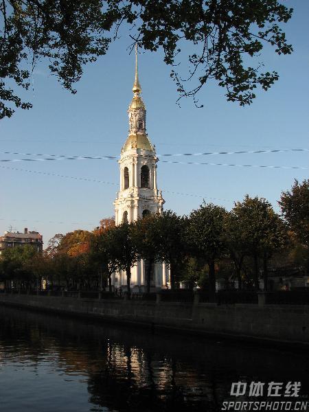 图文:圣彼得堡掠影 静谧景色