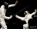 图文:[击剑]世锦赛男重半决赛 白鹤亮翅
