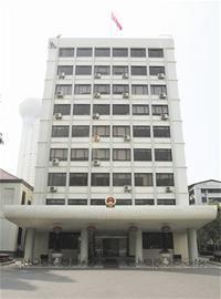 武汉市政府大楼全貌