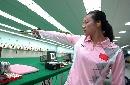 图文:中国队备战世界杯总决赛 任洁瞄准射击