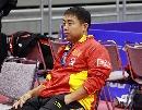 图文:乒乓世界杯中国首训 刘国梁胸有成竹