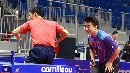 图文:乒乓世界杯中国男乒首训 王励勤王皓配对