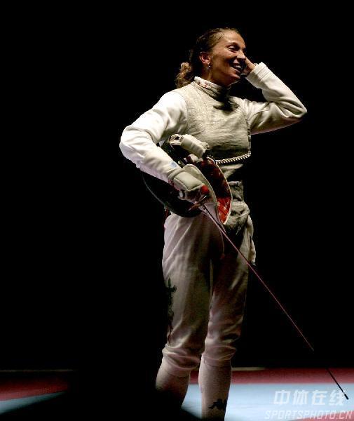 图文:2007世界击剑锦标赛 意大利选手玛格丽塔