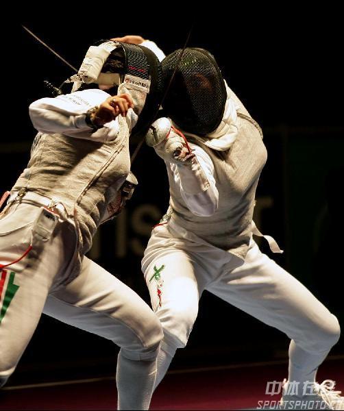 图文:2007年世界击剑锦标赛 女子花剑半决赛