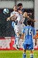 图文:[中超]上海申花2-0长沙 于贵君争顶