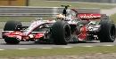 图文:F1上海站第二次练习  汉密尔顿不敢怠慢