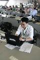 图文:[F1]中国站第二次练习 记者紧张的工作