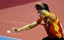 图文:乒乓球世界杯团体赛 陈�^轻松获胜