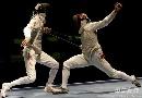 图文:[击剑]男花一剑憾负韩国 雷声与对手相持