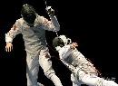 图文:[击剑]男花一剑憾负韩国 雷声被对手刺中