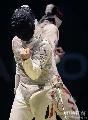 图文:[击剑]男花一剑憾负韩国 韩国庆祝得分