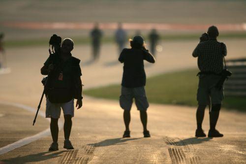 图文:[F1]中国站第三次练习 摄影师开始忙碌