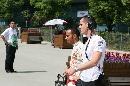 图文:[F1]中国站第三次练习 汉密尔顿准备比赛