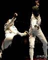图文:[击剑]女重团体赛法国夺金 突施冷剑