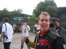 图文:[F1]中国大奖赛正赛 维特尔第四异常激动