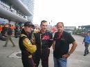 图文:[F1]中国大奖赛正赛 里尤兹(左)第六