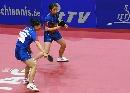 图文:乒球世界杯女团决赛 金�嵌鹌用烙⒎朗刂�