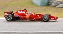 图文:[F1]中国大奖赛正赛 莱科宁驾爱车疾驰