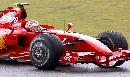 图文:[F1]中国大奖赛正赛 沉稳老练的莱科宁