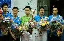 图文:乒乓球团体世界杯 中国香港男队获得亚军