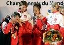 图文:[击剑]爱尔兰女花团体折桂 分享金牌喜悦