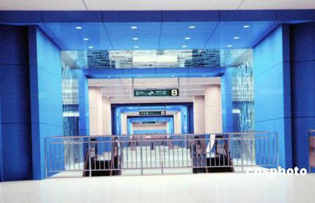 冬・奥林匹克公园站――代表宽广