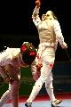 图文:波兰获花剑女团金牌 瑟尔维亚在决赛中