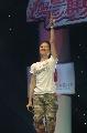 图:李慧珍快乐唱歌 唱热奥运群英会现场