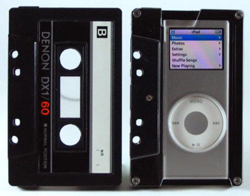 经典设计 卡带式保护套让iPod nano变胖