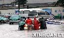 暴雨使杭州遭40年一遇罕见内涝 21万人受灾(图)