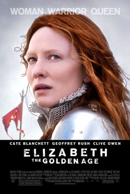 Cate Blanchett stars as Queen Elizabeth I in Universal Pictures' Elizabeth: The Golden Age