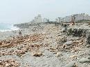 台风卷走花莲400米沙滩 海景住家险象环生(图)