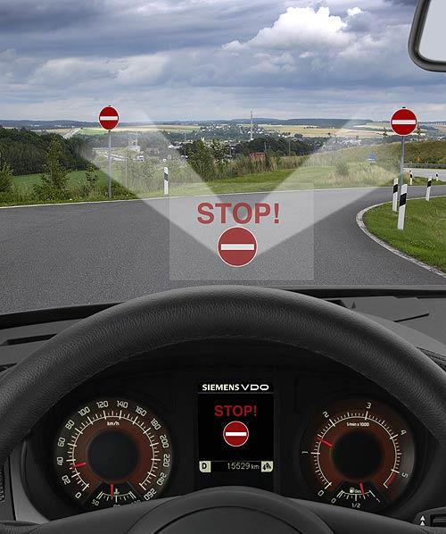 西门子VDO正在开发一种视频的系统,它可识别道路标记,并触发车内报警器,有助于减少驾驶员的错误操作。