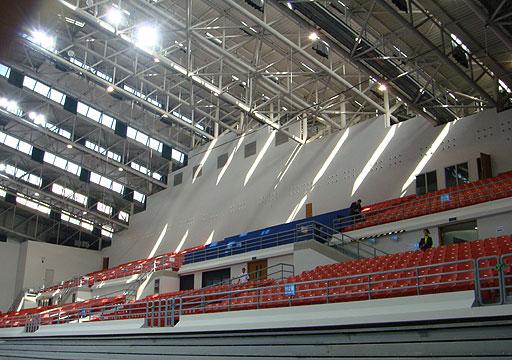 图文:2008奥运世界媒体大会 农业大学体育馆