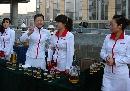 图文:2008奥运世界媒体大会 燕京啤酒推广大使