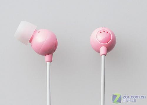 女生最爱 Elecom推精美粉色耳机(图)