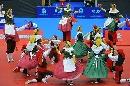 图文:乒乓球男子世界杯开幕式 西班牙风情歌舞