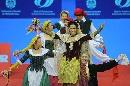 图文:乒乓球男子世界杯开幕式 文艺表演一景