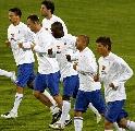图文:[欧洲杯]荷兰备战罗马尼亚 队员集体慢跑