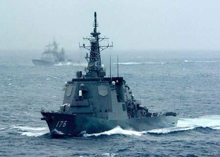 海上自卫队现役金刚级宙斯盾导弹驱逐舰 资料