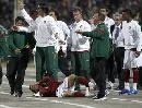 图文:[欧预赛]葡萄牙VS阿塞拜疆 葡萄牙抗议