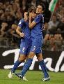 图文:[欧预赛]意大利VS格鲁吉亚 皮尔洛庆进球