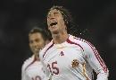 图文:[欧预赛]丹麦1-3西班牙 拉莫斯喜不自禁