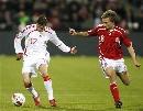 图文:[欧预赛]丹麦1-3西班牙 华金边路突破