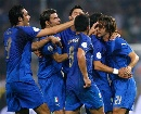 图文:[欧预赛]意大利2-0格鲁吉亚 蓝军庆胜利