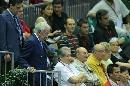 图文:男乒世界杯三四名决赛 萨马兰奇步履稳健