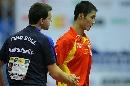 图文:男乒世界杯三四名决赛 波尔输得心服口服
