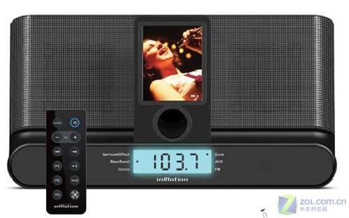 Zune播放器新音响底座亮相 售100美元