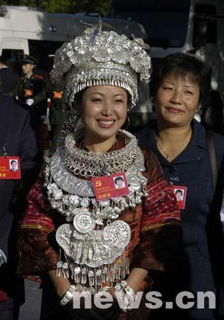 中国共产党第十七次全国代表大会开幕式定于2007年10月15日9:00在人民大会堂大礼堂举行。